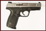 SMITH AND WESSON SD9VE 9MM USED GUN INV 228083 - 1 of 2