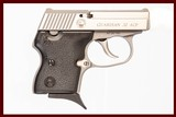 NORTH AMERICAN ARMS GUARDIAN 32 ACP USED GUN INV 226992