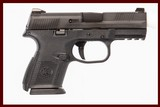 FNH FNS-9C 9 MM USED GUN INV 228880