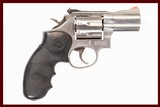 smith and wesson 686-4 357mag used item inv 229179