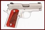 kimber micro 9 9mm used gun inv 229158