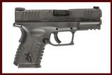 SPRINGFIELD XDM45 45 ACP USED GUN INV 233359 - 1 of 8