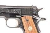 COLT 1911 GOVT MICHIGAN STATE POLICE 60TH ANNIVERSARY 45 ACP USED GUN INV 235783 - 6 of 9