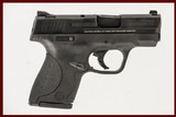 SMITH & WESSON M&P SHIELD 9 9MM USED GUN INV 238881