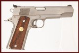 COLT 1911 SERIES 80 GOLD CUP NATIONAL MATCH 45 ACP USED GUN LOG 239099