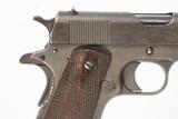 WWI COLT 1911 45 ACP USED GUN LOG 240014 - 3 of 13