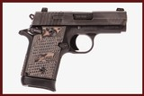 SIG SAUER P938 9MM USED GUN INV 240513 - 1 of 8