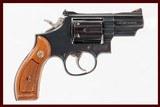 SMITH & WESSON 19-5 357 MAG USED GUN LOG 239107