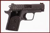 SPRINGFIELD ARMORY 911 380 ACP USED GUN INV 240593