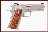 KIMBER 1911 PRO RAPTOR II 45 ACP USED GUN INV 240784