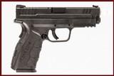 SPRINGFIELD ARMORY XD-9 9MM USED GUN INV 240858