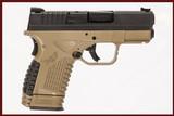 SPRINGFIELD XDS 45 ACP USED GUN INV 231448