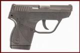 TAURUS TCP 380 ACP USED GUN INV 244691