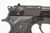 BERETTA 92FS 9 MM USED GUN INV 244012 - 2 of 8