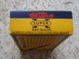 Western Super-X .220 swift vintage cartridge box - 3 of 7