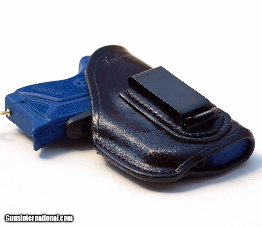 Turtlecreek Leather IWB Holster for Ruger LCP II w/ Crimson
