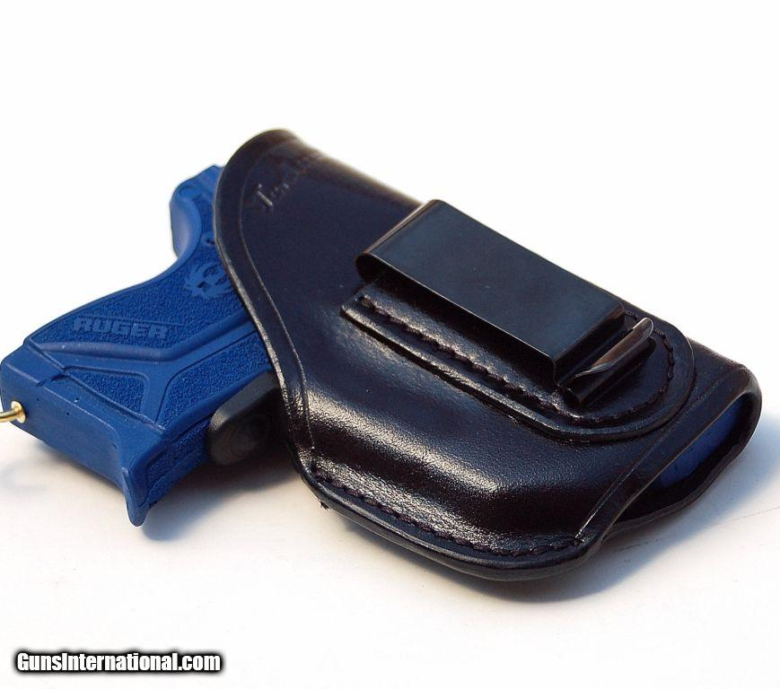 Turtlecreek Leather IWB Holster for Ruger LCP II w/ Crimson Trace