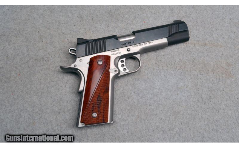 Kimber ~ Custom II ~  45 ACP for sale