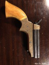 Sharps 4 Barrel .22 Fully Engraved Ivory Grips - 6 of 10