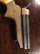Sharps 4 Barrel .22 Fully Engraved Ivory Grips - 8 of 10