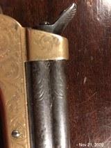 Sharps 4 Barrel .22 Fully Engraved Ivory Grips - 4 of 10
