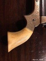 Sharps 4 Barrel .22 Fully Engraved Ivory Grips - 5 of 10