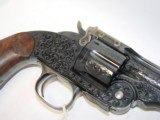 S&W Model 3 Schofield Engraved - 6 of 14