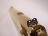 RARE Colt 38 Super Gold Plated Lew Horton Exclusive - 4 of 9