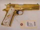 RARE Colt 38 Super Gold Plated Lew Horton Exclusive - 5 of 9