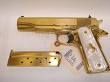 RARE Colt 38 Super Gold Plated Lew Horton Exclusive - 8 of 9