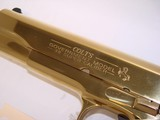 RARE Colt 38 Super Gold Plated Lew Horton Exclusive - 3 of 9