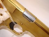 RARE Colt 38 Super Gold Plated Lew Horton Exclusive - 7 of 9