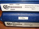 "Colt SAA 4.75"" Consecutive Set - 10 of 10"