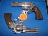 Colt Python Factory Engraved Consecutive Pair