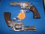Colt Python Factory Engraved Consecutive Pair