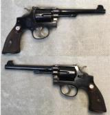 Smith & Wesson .38 M&P Model 1905 Target Model Pre War