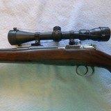 Custom stocked 6.5x55 Swedish mauser