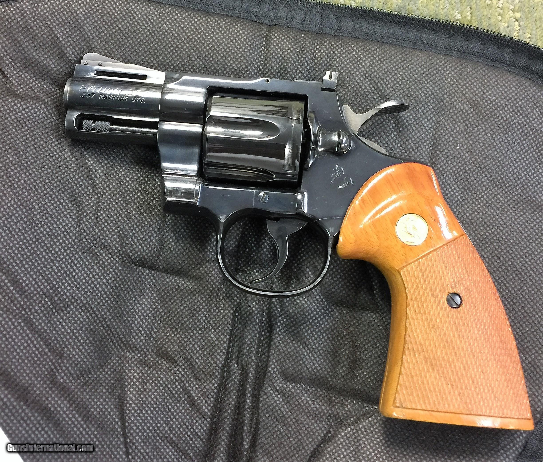 Colt Python 2 ½ inch Blued 357 Magnum