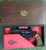 Colt Python 4 inch Blued 357 Magnum