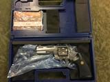 Colt Python 4 inch Stainless 357 Magnum