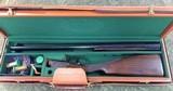 F.A.I.R. Isidoro Rizzini NEA 400 28 gauge O/U 28 inch shotgun with custom all leather case and cover