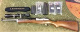 Ruger Mini-14 Stainless 223 w Leupold 3X9x40 & 6 Mags