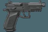 CZ P-07 9mm 17+1 Black Suppressor-Ready Pistol