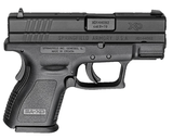 "Springfield Armory Defender XD Sub-Compact 9mm 3"" Barrel Pistol XDD9801HC"