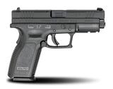 Springfield XD 9mm Service Model Black Defenders Series Pistol
