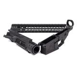 """M5E1 Builder Set Lower Receiver Enhanced Upper Receiver 15"""" Key-Mod Hand-Guard Black- APCS100022S"""