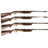 "Benelli Super Black Eagle II 25th Anniversary Flyway 12 Gauge 28"" Semi Auto Shotguns Complete Set of 4 - 10136-10137-10138-10139"