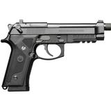 """Beretta M9A3 FS 9mm Luger SA/DA Semi Auto Pistol 5"""" Threaded Barrel 17 Rounds Night Sights Black Finish - J92M9A3M0"""
