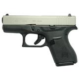 GLOCK 42 380ACP BLACK/SILVER 6 - W260-99080