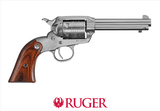"Ruger New Bearcat .22 LR Stainless Steel, 4"" Barrel - 00913"